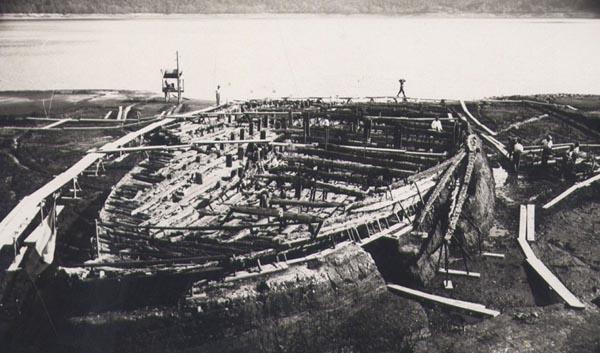 La terza nave di Caligola a Nemi