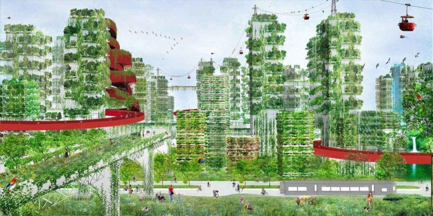 Liuzhou Forest City, la prima città a impatto zero